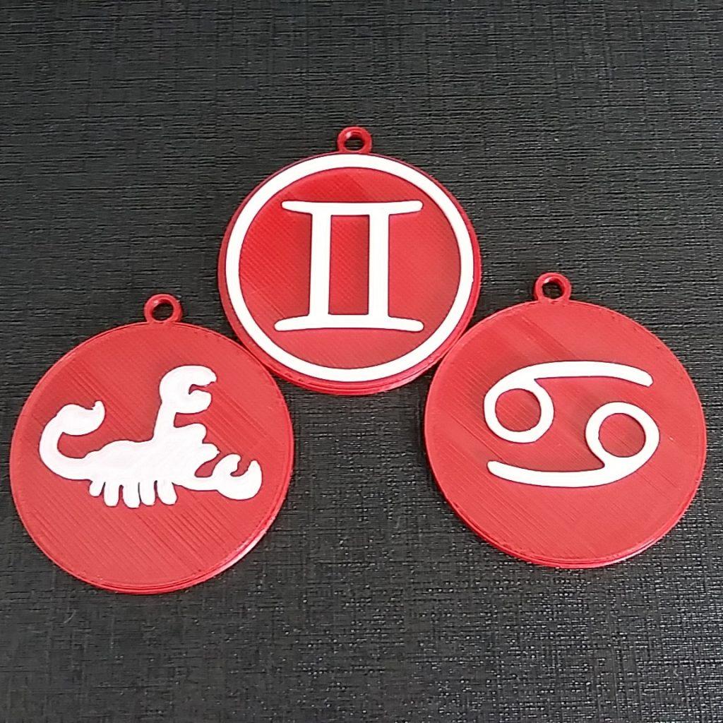 Медальони и ключодържател