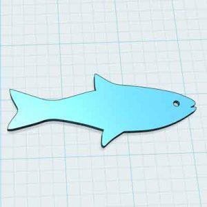 Риба за украса 3Д принтиране