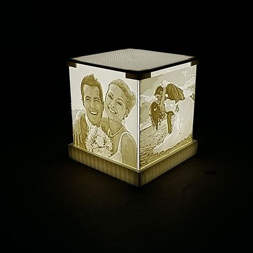 3D лампа със снимки