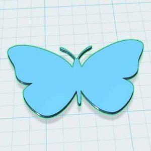 Пеперуда за украса ж