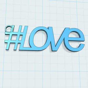 ключодържател Love