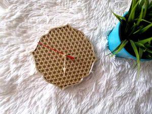 Стенен часовник Summer - Cubi